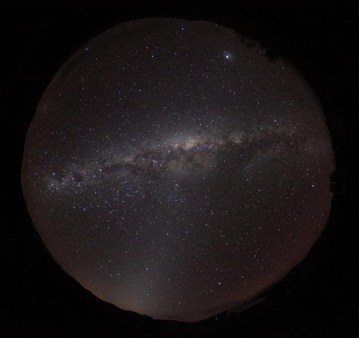 Photo: lumière zodiacale